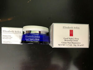 Elizabeth Arden Good Night's Sleep Restoring Cream 1.7oz / 50g