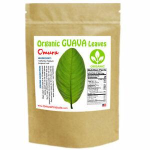 Omura Organic GUAVA LEAF (60+ Leaves) DRIED