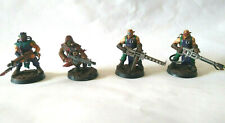 Warhammer 40K Chaos Cultist Very Well Painted x4