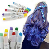 Temporary Hair Spray Many Colors Easy Highlight color Disposable hair crayon JCf