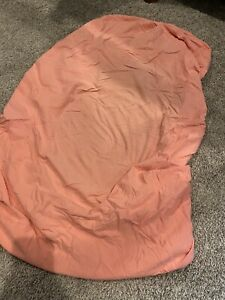 Coral T-Shirt Soft Fitted Crib Sheet, Babies R Us