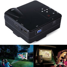 Portable Mini Full HD LED Projector Video Home Cinema Theater With AV/VGA/SD/USB