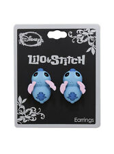 Disney Lilo And Stitch Alien Biting Post Insertion Stud Earrings Licensed NWT