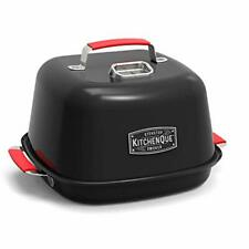 "Charcoal Companion Cc4132 KitchenQue Indoor Stovetop Smoker, 13.5"" x 12.5"" x 9.5"