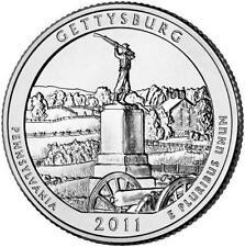 USA / Vereinigte Staaten - 25c Gettysburg National Military Park
