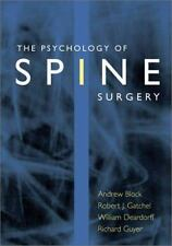 The Psychology of Spine Surgery-ExLibrary