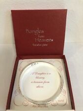 Bangle from Heaven Fine Silver Plate A Daughter is a blessing, a treasure ...
