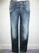 Replay 'Cajun' distressed demin with front detail size 30/30leg