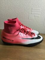 NIKE MERCURIAL ASTRO TURF FOOTBALL TRAINERS SOCK BOOTS SIZE 4