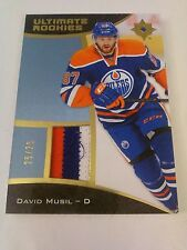 David Musil 2015-16 Ultimate Collection Ultimate Rookies Patch /25 Oilers