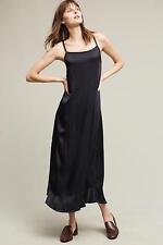 NEW Anthropologie Womens Dress Arcadian Midi Dress Lacausa Lucky Navy Size Small