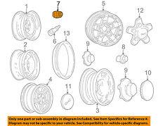 GM OEM Wheel-Lug Nut 10028615