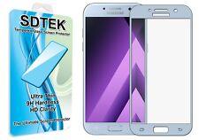 SDTEK Couverture Complète Verre Trempé for Samsung Galaxy A5 2017 (Bleu)