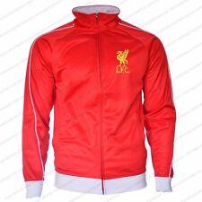 Liverpool FC  Jacket Adult Red track zip up hoodie new season