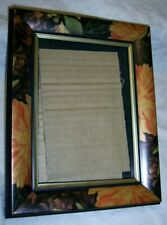 Weston Gallery Orange & Brown Chrysanthemum Picture Frame 4 x 6""