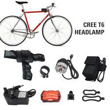 Bike Light LED 8000LM CREE XM-L T6 Mountain Cycling Bicycle Head Handbank Kit
