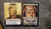 Donald Trump Collectible Trading Card MTG! Magic the Gathering
