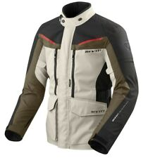 GIACCA JACKET MOTO REV'IT REVIT SAFARI 3 SAND SABBIA MARRONE H2O WATERPROOF TG M