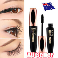 NEW 4D Silk Fiber Eyelash Mascara Extension Makeup Waterproof Kit Big Eyes hot D