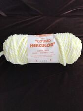 Elefant Twist Macrame Textured Herculon Cord/Rope Yellow VarigatedNOS 7mm 50 yds