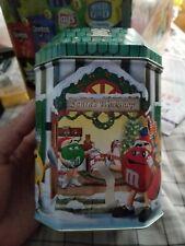 1999 M&M's Tin, Santa's Workshop, Number 10 Christmas Village Series Limited Ed.