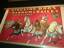 Circus poster Barnum and Bailey