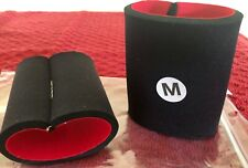 Nwt Gk Elite Sportswear Style #Gk49 Neoprene Wristbands 3.5� Black Size M
