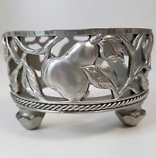 Seagull Pewter Round Pear Candle Holder 1997 Etain Zinn