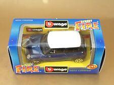 [PI3-28] BBURAGO BURAGO 1/43 STREET FIRE MINI COOPER BLU BLUE NIB