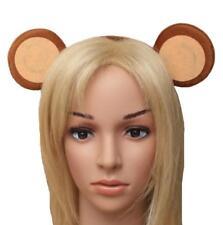 CUTE MONKEY EARS ALICEBAND HEADBAND - KIDS ANIMAL FANCY DRESS PARTY ACCESSORY