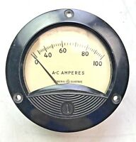 General Electric A-C Amperes Meter