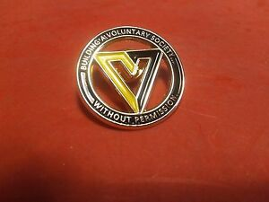 Libertarian, Voluntaryist, Anarchist, Black, Yellow, Gold, lapel pin, hat pin
