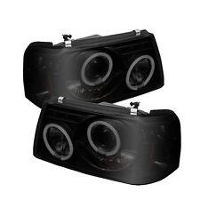 Ford 01-11 Ranger Black Smoke CCFL Halo LED Projector Headlights XL XLT FX4 STX