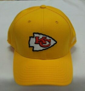 Kansas City Chiefs Fitted Hat By Reebok - Size 7 7/8 - New