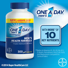 One A Day Men's  Multivitamin 300 tablets w/ lycopene BAYER Health