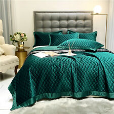 Luxury Soft Silk Velvet bed sheets Set Hotel 3pcs cover bedding mattress Deep