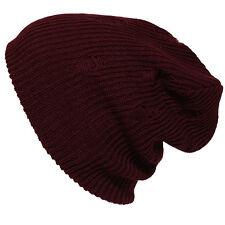 Mens Women's Crochet Vintage Knit Oversize Baggy Beanie Slouch Unisex Ski Rad