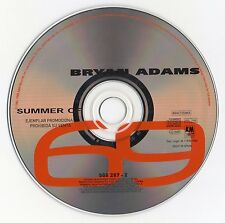 "BRYAN ADAMS ""SUMMER OF 69"" ULTRA RARE SPANISH PROMO CD SINGLE"
