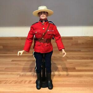 vintage action man Royal Canadian police