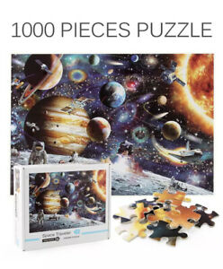 Puzzle 1000 Pieces Jigsaw Planet Space Travel