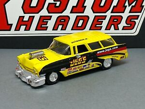 1956 56 CHEVROLET CHEVY NOMAD JEG'S NHRA COLLECTIBLE 1/64 SCALE LIMITED EDITION