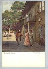AK Wien, Dreimäderlhaus, Franz Schubert, Künstle: F. Riedel