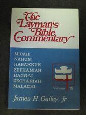 Micah, Nahum, Habakkuk, Zephaniah, Haggai, Zechari