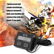 LCD Digital Display Engine Tach Hour Meter Sroke Engine Car Speedometer R6X6