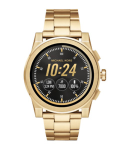 Michael Kors MKT5001 Access Gold Touch Screen Smartwatch 47mm