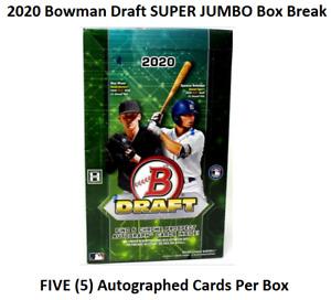 NEW YORK METS ⚾️ 2020 Bowman Draft SUPER JUMBO Box Break