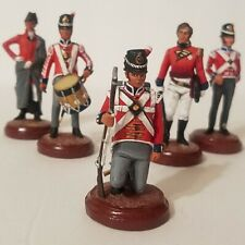 New listing 5 Miniature Metal/Pewter British Soldiers-Painted