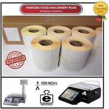Avery Berkel Thermal Scales label 5400 labels - 60x80mm - PREMIUM QUALITY