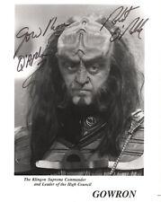 ROBERT O'REILLY - Signed 10x8 Photograph - TV - STAR TREK TNG