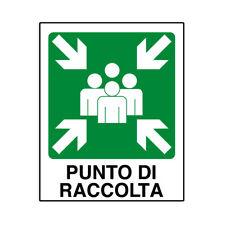 TABELLA IN ALLUMINIO 'PUNTO DI RACCOLTA'